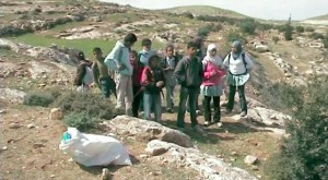 Schoolchildren detained after being chased by settlers