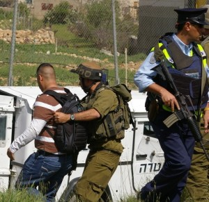 Arresting Cameraman