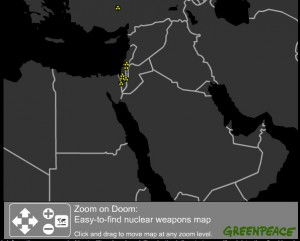 Greenpeace Nuke Map