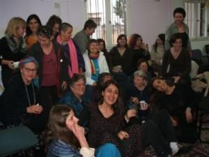 Members of Isha L' Isha (Woman to Woman)