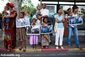 African Refugees in Tel Aviv, by ActiveStills
